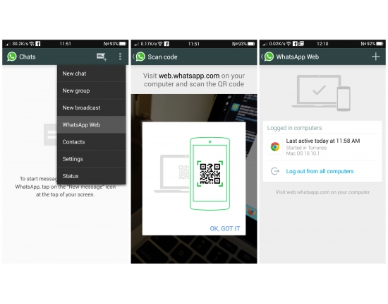 Image of whatsapp application 3