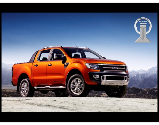 Photo new ford ranger