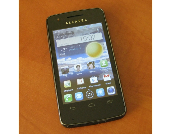 ������� �������� �� ������� alcatel one touch 4030d 2