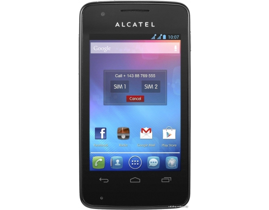 ������� �������� �� ������� alcatel one touch 4030d 3