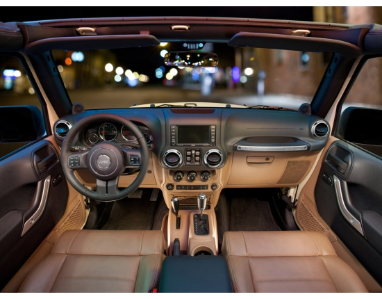 Photo interieur jeep wrangler