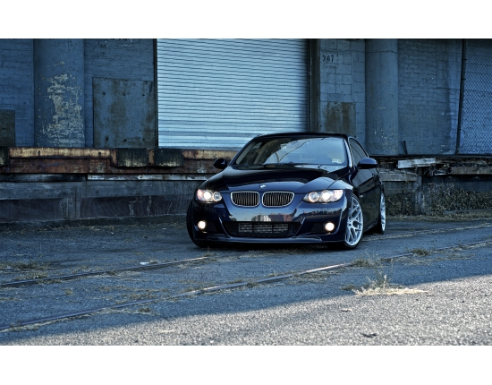 Photo bmw noire 2