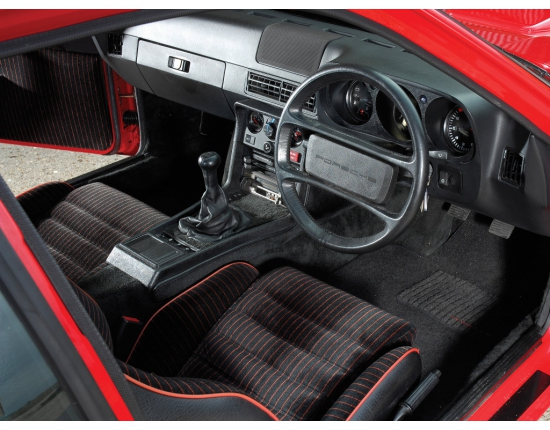 Photo interieur porsche 924