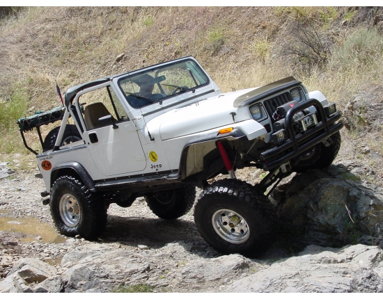 Photo jeep wrangler yj 2