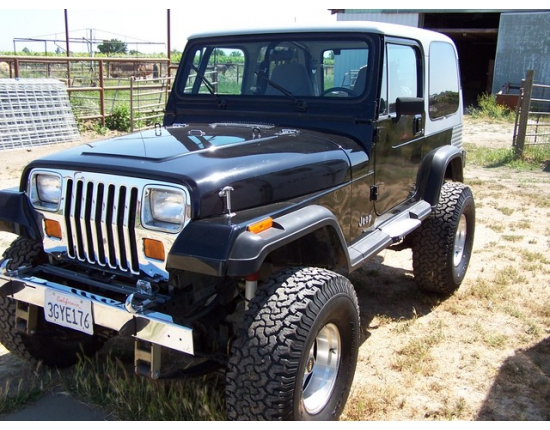 Photo jeep wrangler yj 3