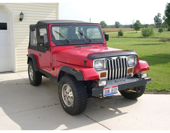 Photo jeep wrangler yj 4