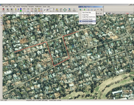 Image google maps satellite 2
