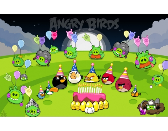 �������� � ���� �������� angry birds