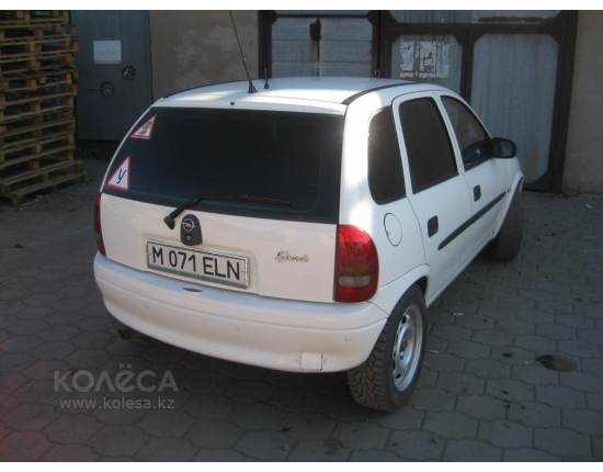 Photo opel corsa 1997