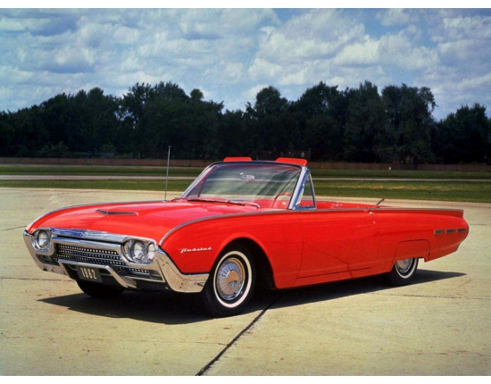 Photo ford thunderbird 2