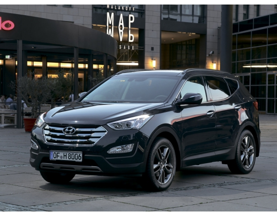 Photo nouveau hyundai santa fe