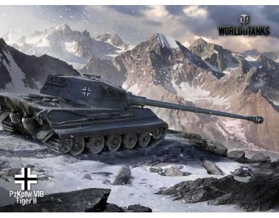 �������� world of tanks tiger ii 1