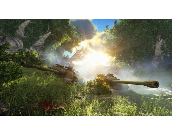 Картинки 1366х768 world of tanks