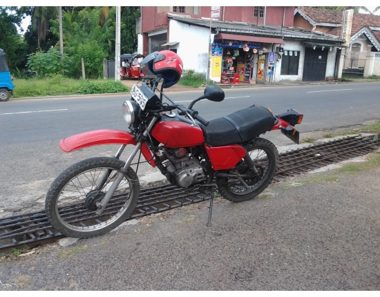 Photo honda xls 125 4
