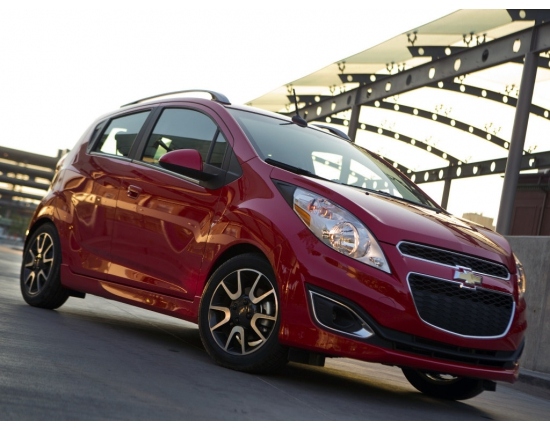 Photo voiture chevrolet spark