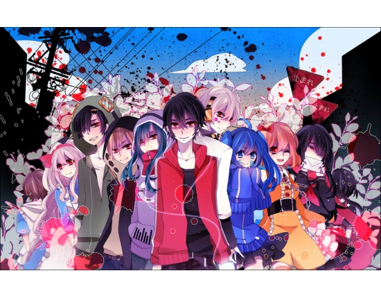 Аниме картинки kagerou project 2