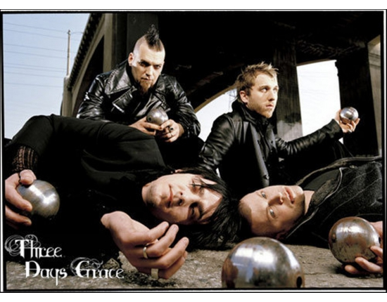 Фото на аву three days grace 1