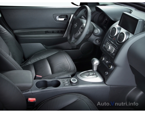 Photo interieur nissan qashqai 4