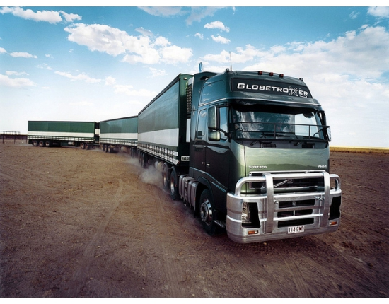 Photo of volvo truck