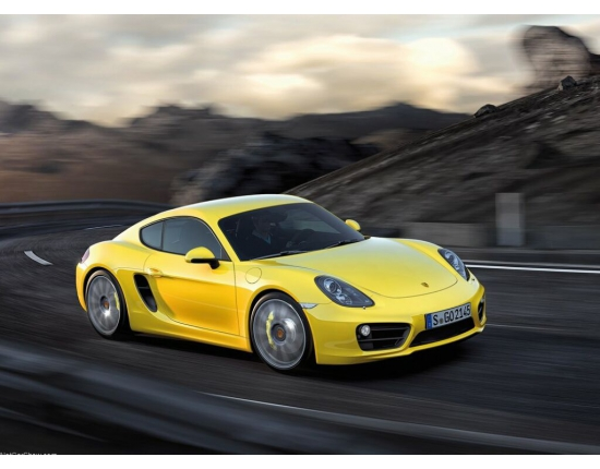 Photo porsche cayman 1