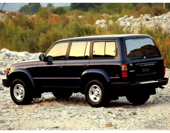 Фото toyota land cruiser 80 2