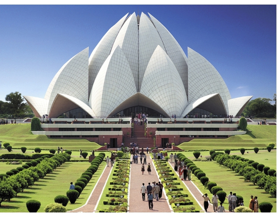 Photo lotus temple