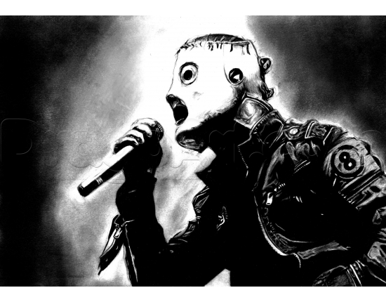 Slipknot corey картинки