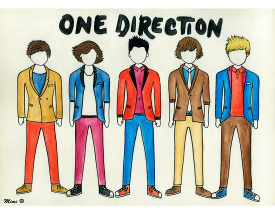 �������� � ���� �������� one direction