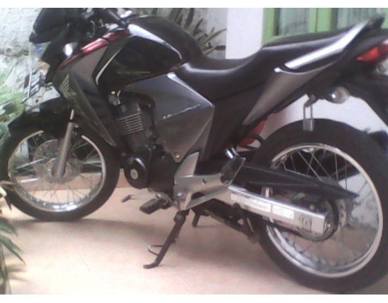 Photo honda new megapro
