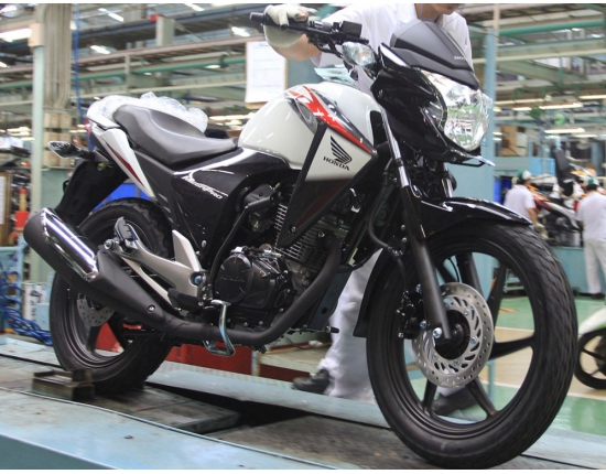 Photo honda new megapro 3