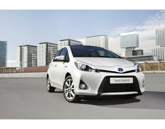 Photo toyota yaris hybride 3
