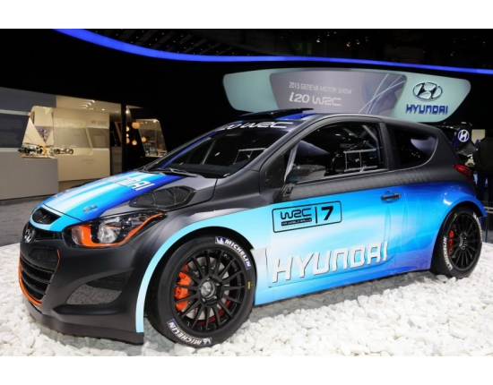 Photo hyundai wrc 5