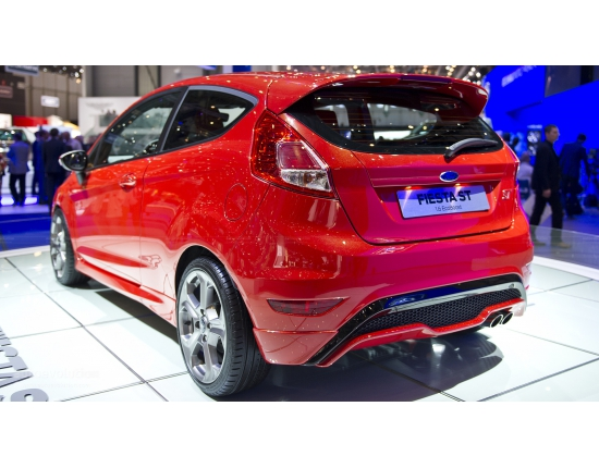 Photo nouvelle ford fiesta 4