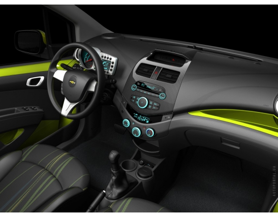 Photo interieur chevrolet spark