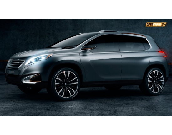 Photo peugeot urban crossover concept 3