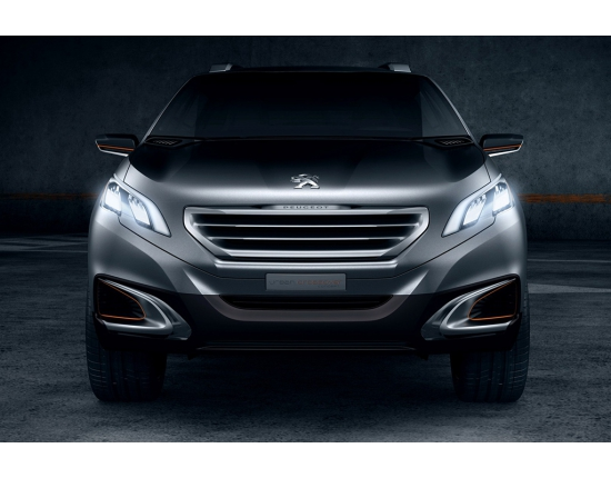 Photo peugeot urban crossover concept 5