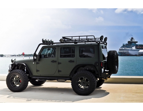 Photo de jeep militaire