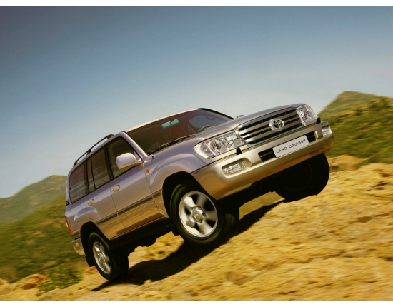 Фото toyota land cruiser 100 2