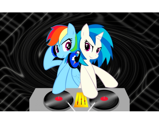My little pony dj pon 3 на аватарку 1