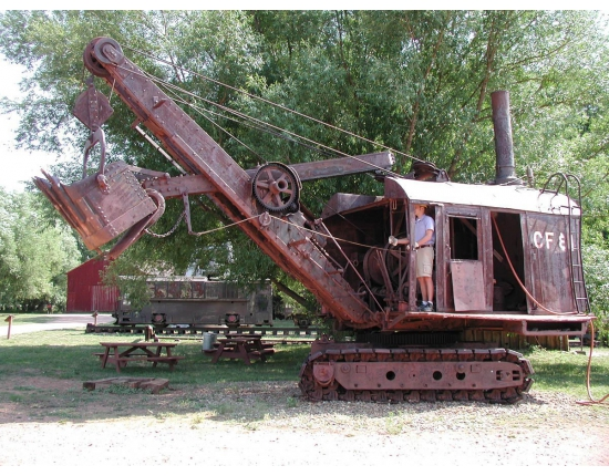 Image steam shovel 1