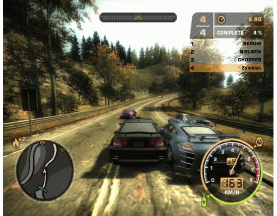 Картинки машин need for speed most wanted black edition 3