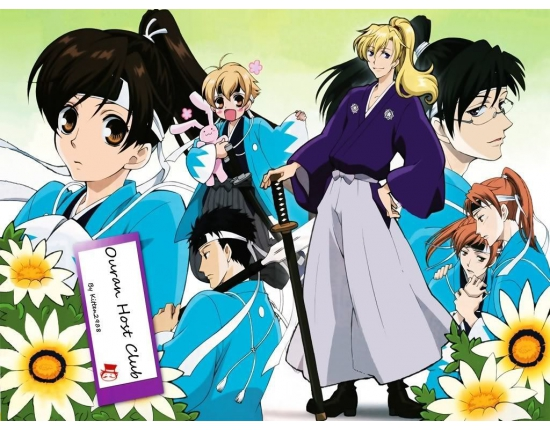 Аниме картинки ouran high school host club