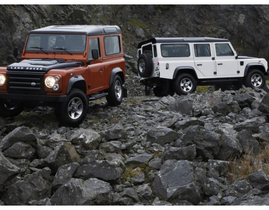 Photo mobil jeep land rover 4