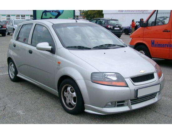 Photo chevrolet kalos 1