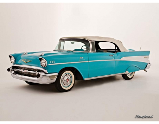 Photo chevrolet bel air cabriolet