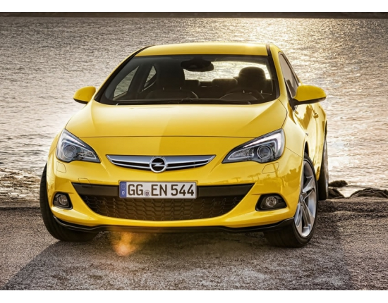 Photo nouvelle opel astra gtc