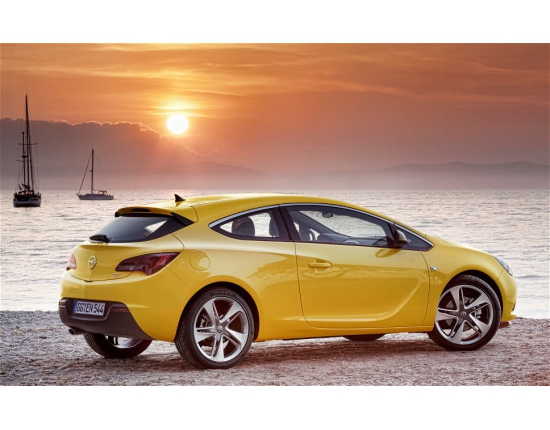 Photo nouvelle opel astra gtc 3