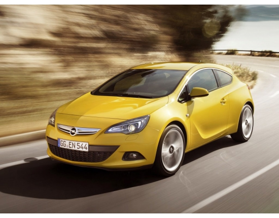Photo nouvelle opel astra gtc 4