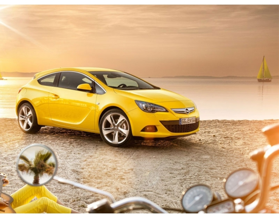 Photo nouvelle opel astra gtc 5