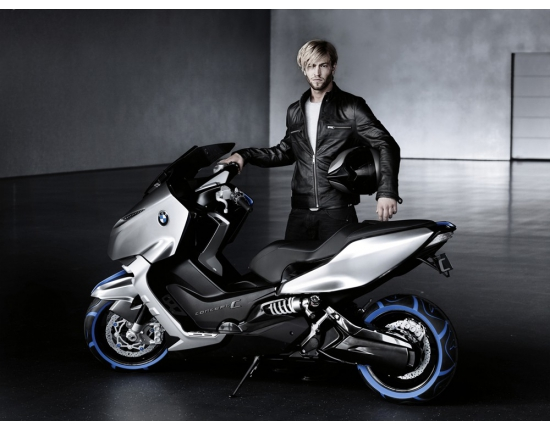 Image scooter bmw